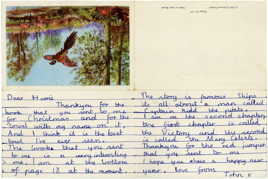 John Lennon 1951 Letter